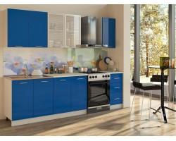 Кухня Синяя 2000 фото