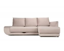 Угловой диван с независимым пружинным блоком ПолоLUXНПБ (Нью-Й фото