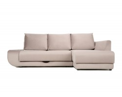 Угловой диван с независимым пружинным блоком Поло ПБ (Нью-Йорк)  фото