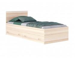 """Кровать """"Виктория"""" односпальная 900 с ящиками дуб/дуб  фото"""
