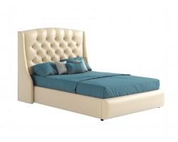 """Мягкая двуспальная кровать """"Стефани"""" 140 см с орт.осно фото"""