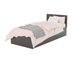 Кровать Адель 900 с багетом и ортопедическим матрасом АСТРА фото