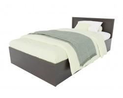 Кровать Адель 1200 с багетом и ортопедическим матрасом АСТРА фото