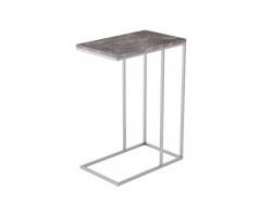 Стол придиванный Агами серый мрамор фото