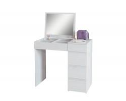 Туалетный столик Триверо-1 белый фото