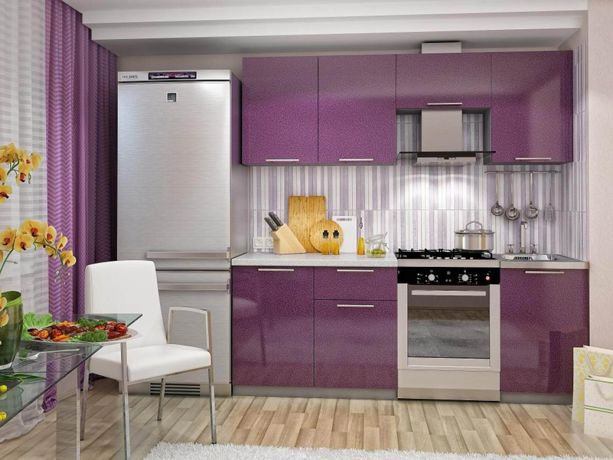 обои для фиолетовой кухни фото расположен бухте, где